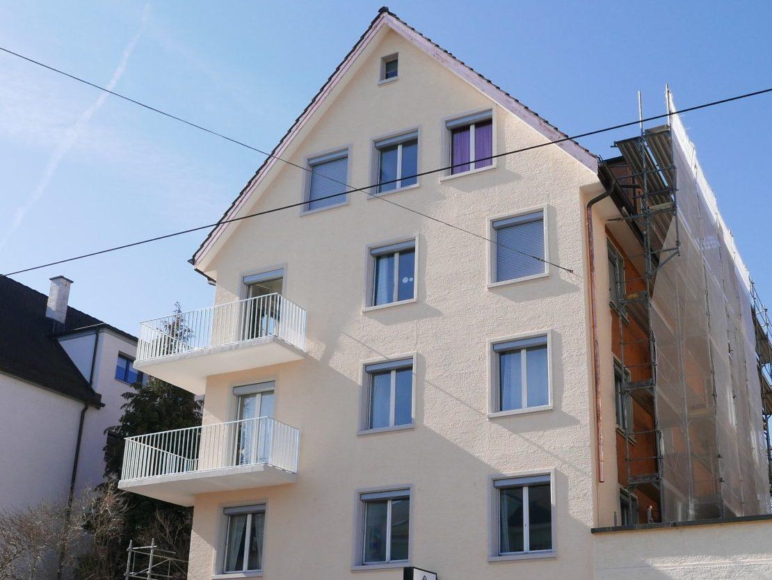 Xpress-Geländer Albisstrasse
