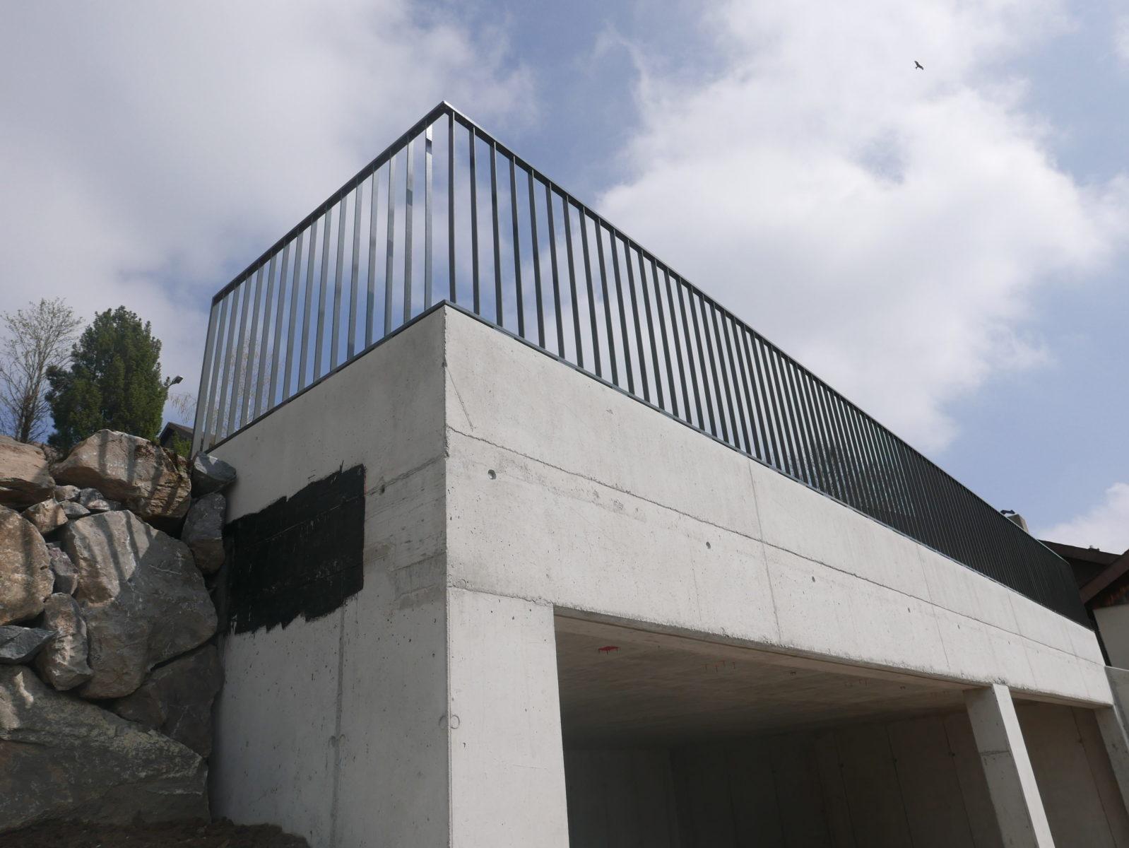 Xpress-Geländer Ecken