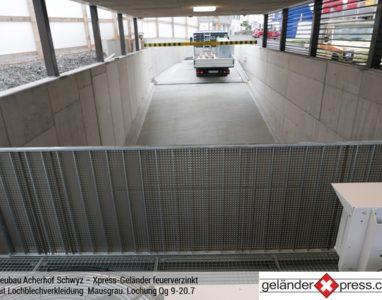 Xpress-Geländer Lochblech 3