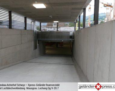 Xpress-Geländer Lochblech 4