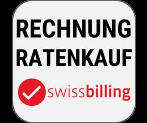 Kauf auf Rechnung oder Ratenkauf, angeboten durch Swissbilling