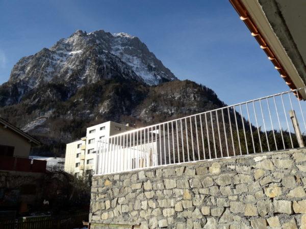 Staketengeländer Feuerverzinkt Glarus ohne Solarmodule