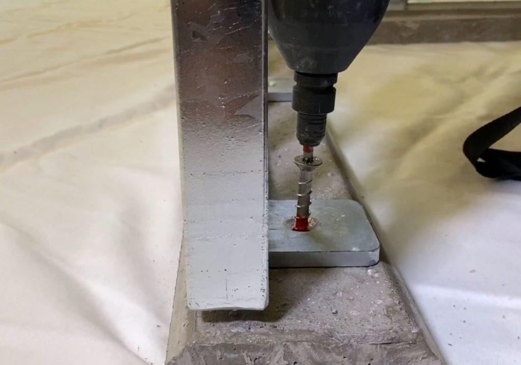 Montage Xpress-Geländer