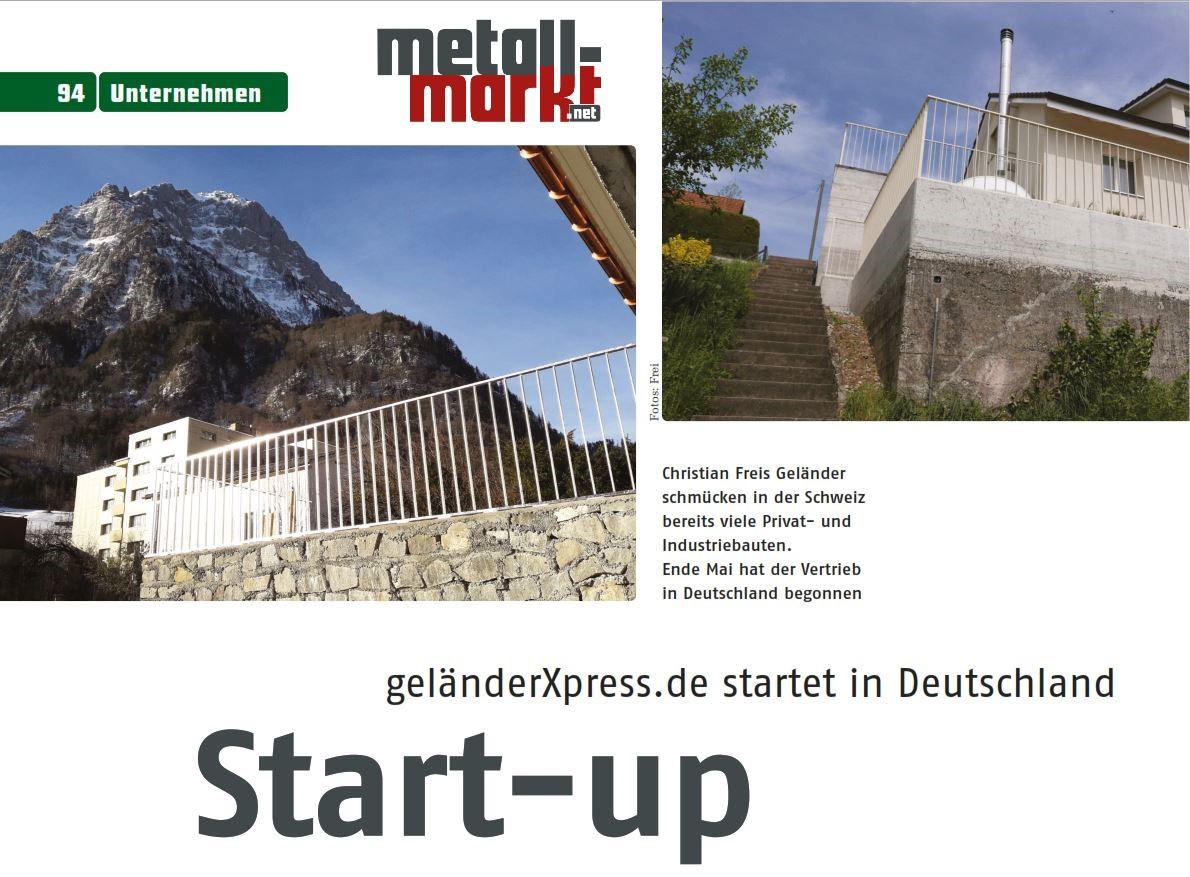 Bericht metallmarkt.net über gländerxpress.ch